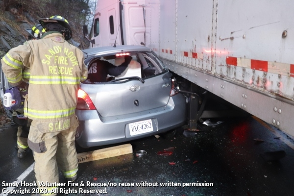 Car vs Tractor-Trailer