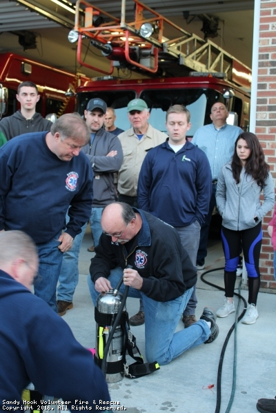 Water Containers Training With FTI Instructors