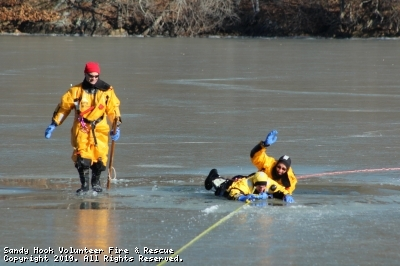 Training: Ice Water Rescue