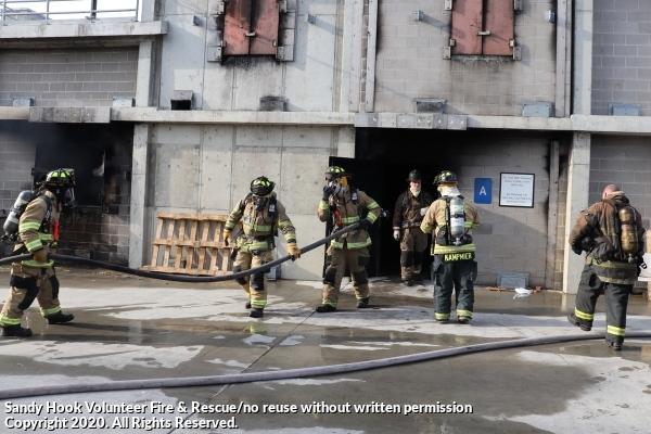 Training: Live Burn at Fairfield Regional Fire School