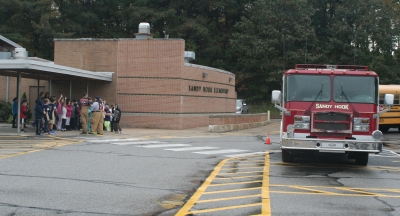 Fire Prevention Day At Sandy Hook School