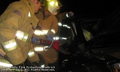 Extrication Call on State Hwy V