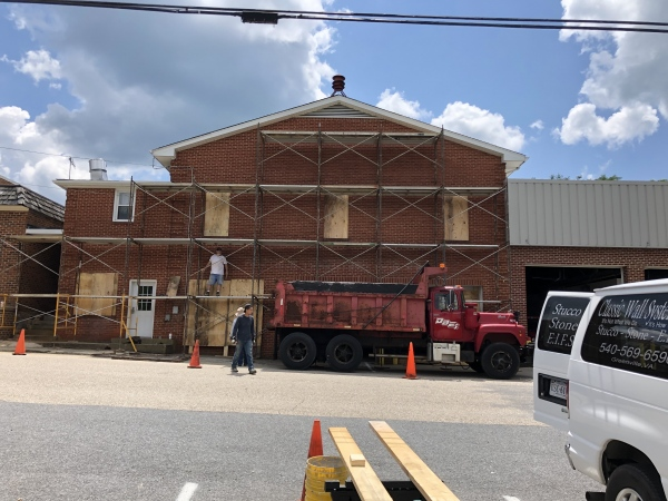 Firehouse getting a facelift.