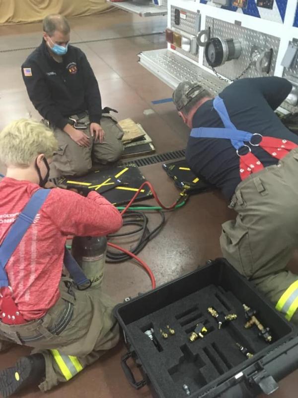 Rescue Tool Drill