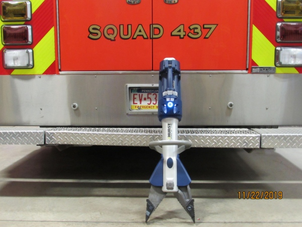"NEW ""JAWS of LIFE"" TOOLS ARRIVE"