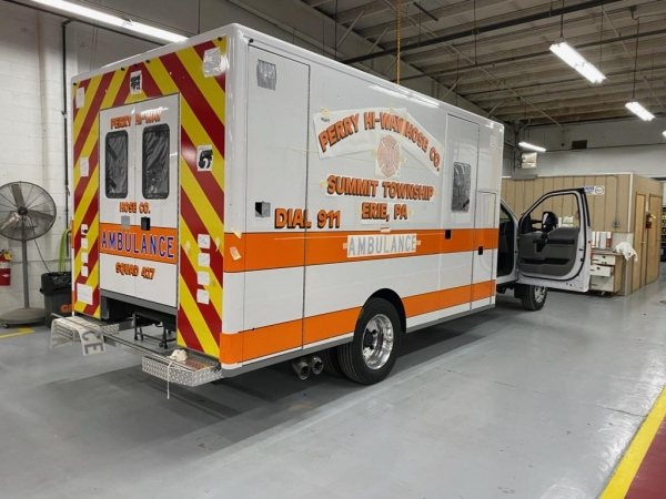 the new ambulances are getting close to delivery date