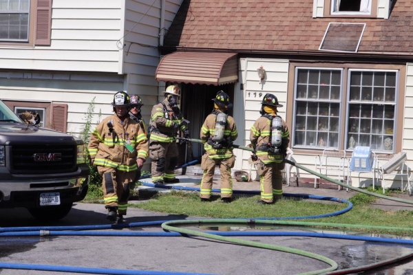 Mutual Aid House Fire with Snyder FD