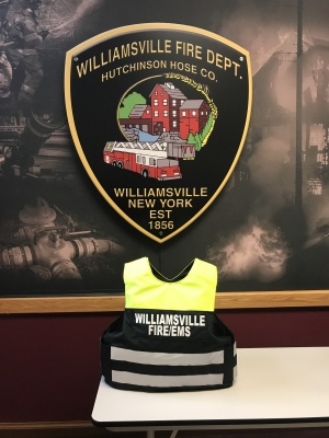 Williamsville firefighters now equipped with ballistic vests