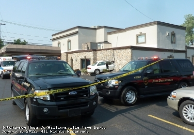 Williamsville Firefighters respond to the fourth MVA in recent months along Main Street