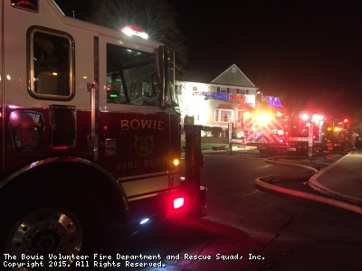 Tower 39 Runs Mutual Aid To Anne Arundel County For Townhouse Fire