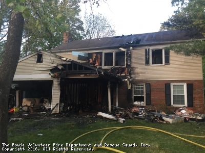 Family Displaced Following House Fire On Narrows Court