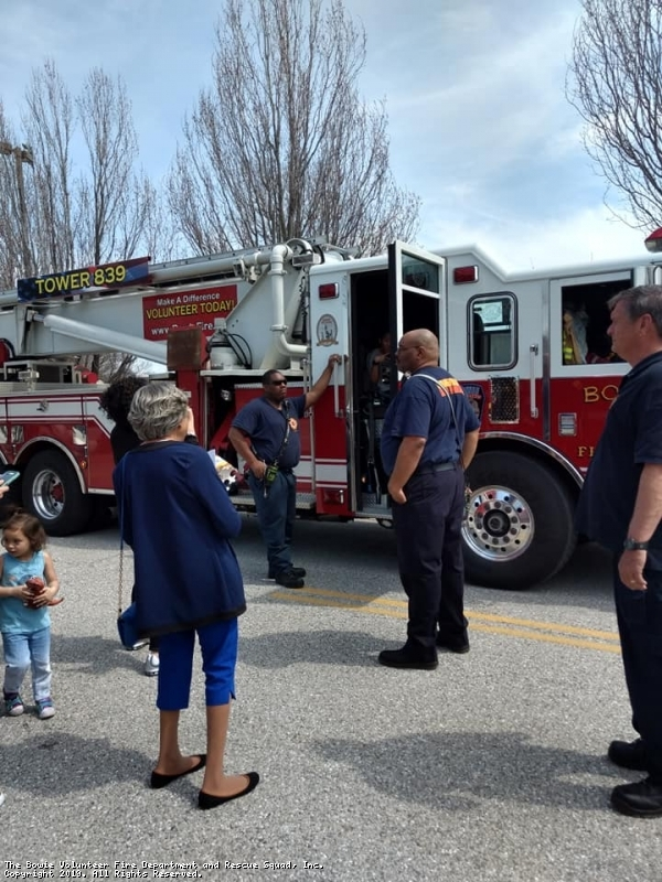 BVFD Members @ Family Fun Day