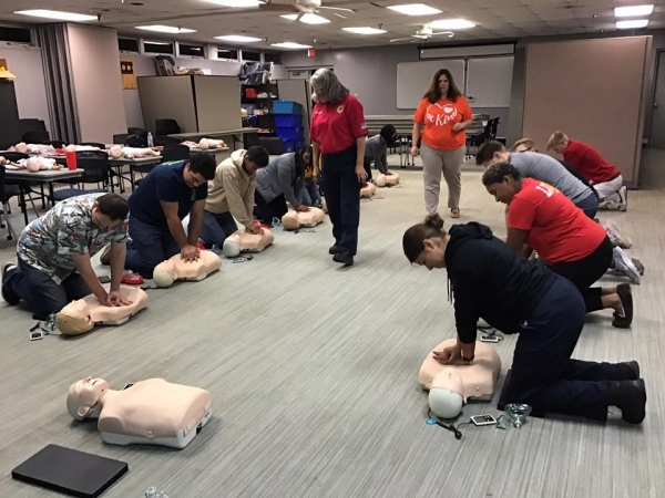 CPR for Bowie Hosts VRS Class