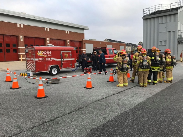 Fire Extinguisher Training w/ Cadets