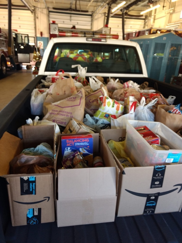 Santa's Food Drive a Success!