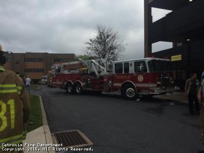 Salisbury Township Structure Fire