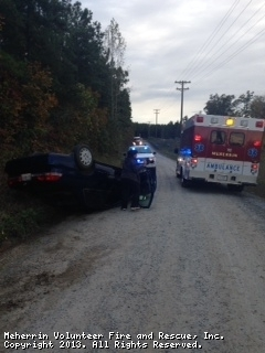 Single Vehicle MVA - Loman Road