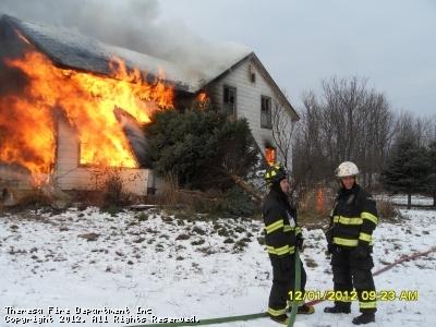 2nd Asst Chief: Jeff McDaniel  &  Firefighter: Nate Burt