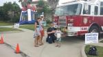 Rodeo Palms subdivision splash day