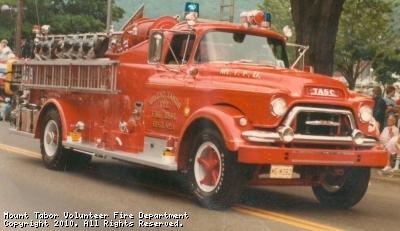 Retired 1955 TASC Pumper