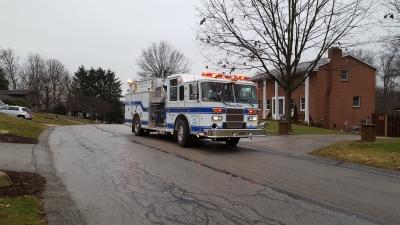 Gas Leak Outside - Elizabeth Township