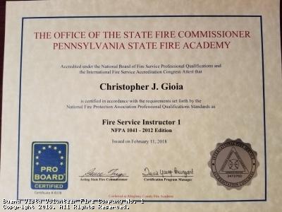 Congrats to Chris