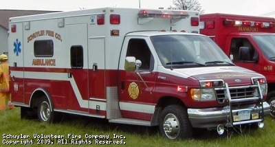 Schuyler Volunteer Fire Company Ambulance 616