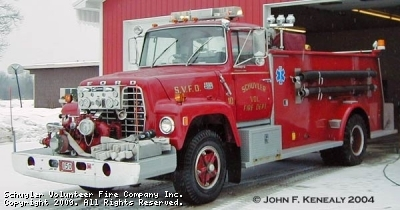 Schuyler Volunteer Fire Company Engine 150