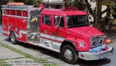 Schuyler Volunteer Fire Company Engine 170