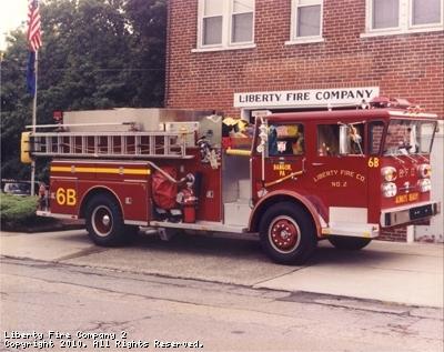 Engine 6 Baker - Retired