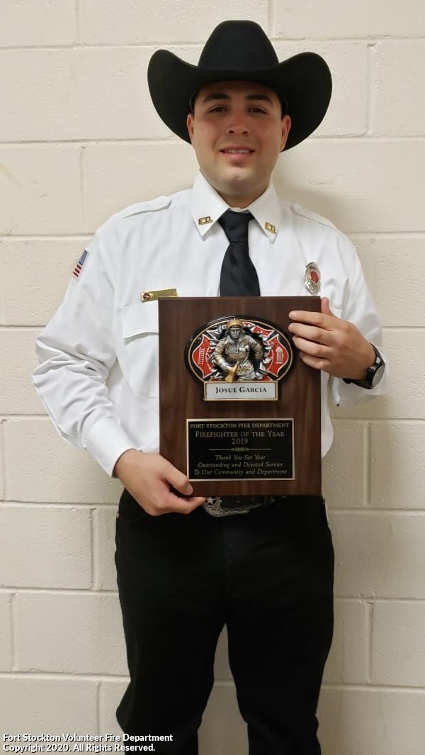 Fireman of the Year Award