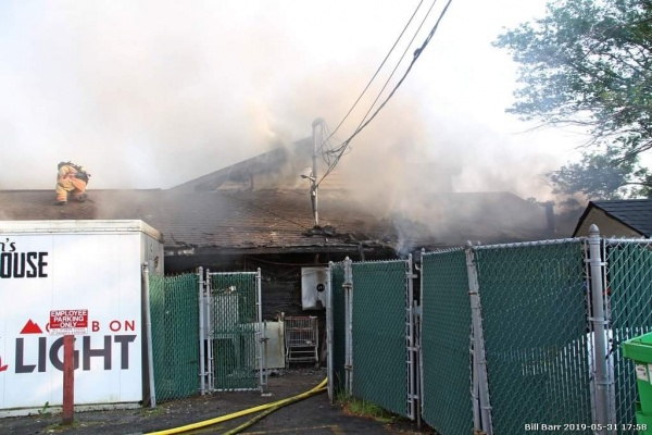 Commercial Structure Fire Evans Roadhouse