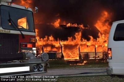3 Alarm Dwelling Fire on Hogbin Road