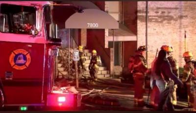 2-Alarm Condominium Fire in Greenbelt East