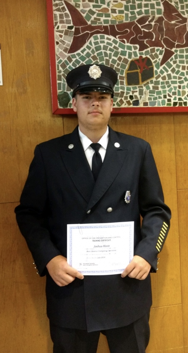 Bloomington Firefighter Completes NYS Firefighter 1 Course
