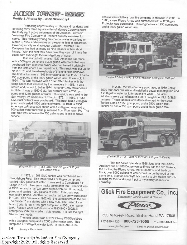 Keystone State Fire Apparatus News