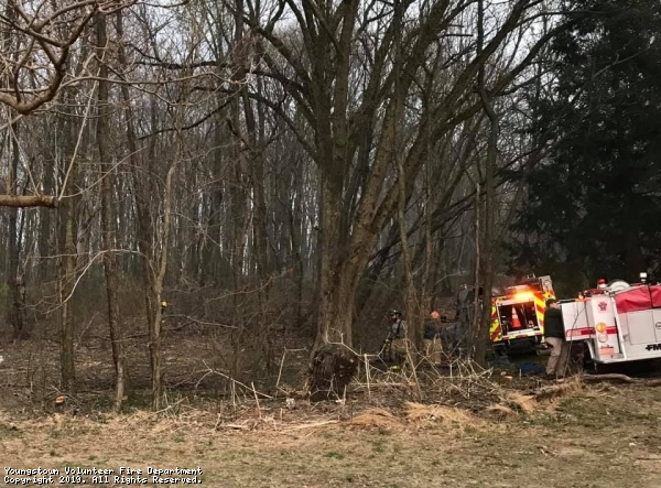 Brush Fire in First Due