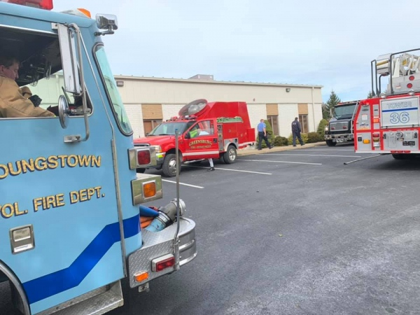 Assisting 36 Commercial Structure Fire