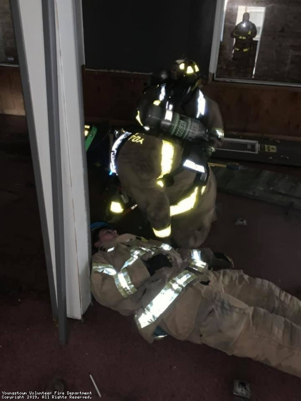 Training Drill With Bradenville Station 71