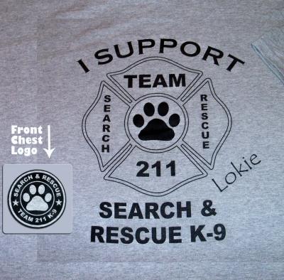 Gray 211 K9 Shirt