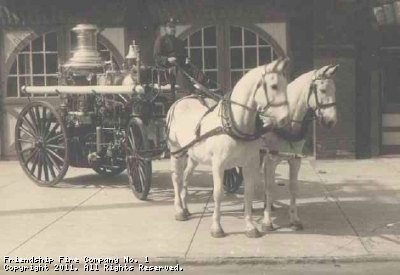Horse Drawn Steamer