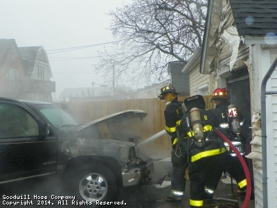 Vehicle Fire - 8th Av