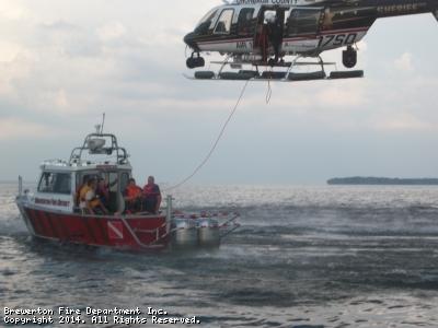 Oneida Lake Rescue Training Exercise