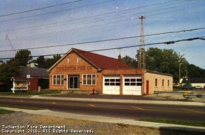 Fire House as it appeared prior to its 1994 renovation/addition.