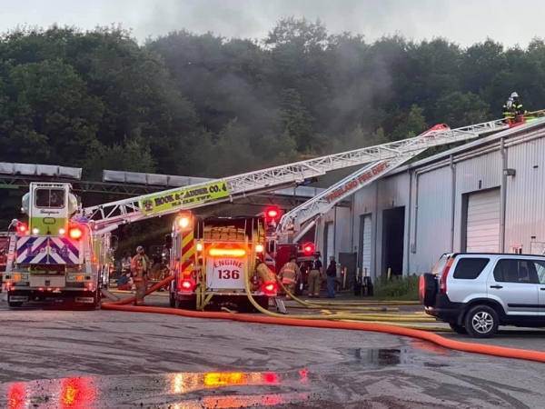 Commercial Fire-Foster Twp