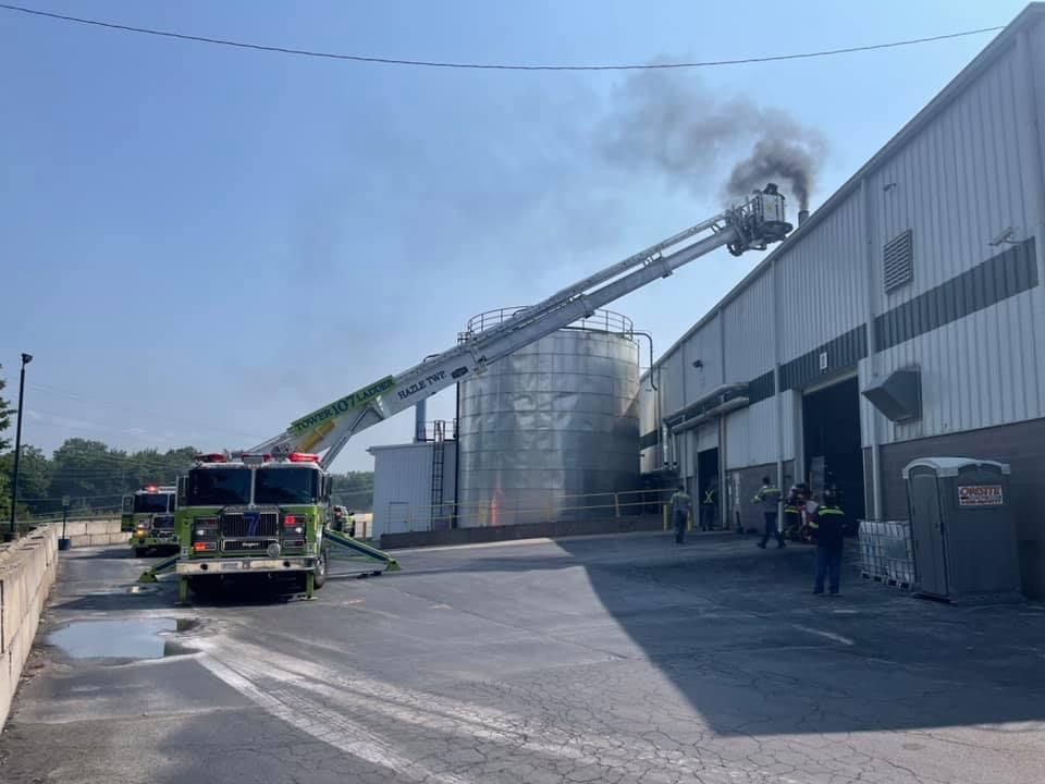 Commercial Structure Fire