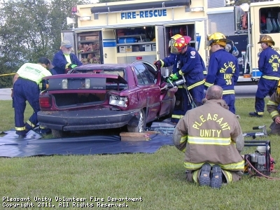 Vehicle Rescue Demonstration for 90th Anniversary Event