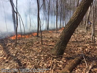 Tire and Woods Fire Assist off Route 982 in Unity Township