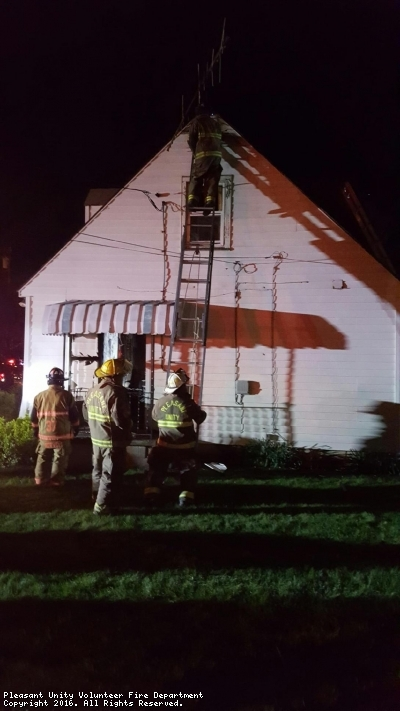 Working House Fire Assist in Village of Norvelt