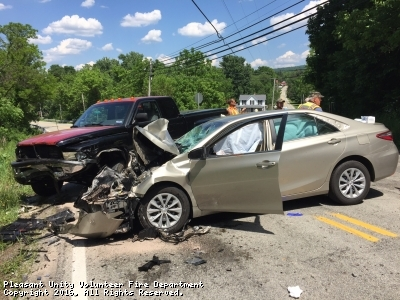 Vehicle Accident Assist in Whitney-Hostetter Fire District